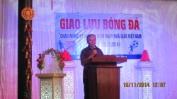 Giao lưu Giải bóng đá - Cầu lông nữ Chào mừng 32 năm ngày Nhà Giáo Việt Nam (20/11/1982-20/11/2014)