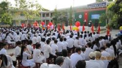 Lễ tri ân - trưởng thành - ra trường cho học sinh khối 12, năm học 2013-2014